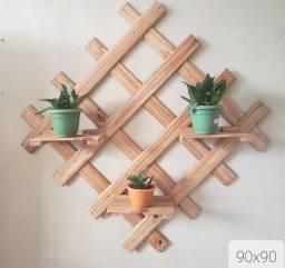 Suporte de parede para vasos de Plantas