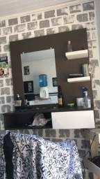 Título do anúncio: Bancada barbearia / 3 cadeiras