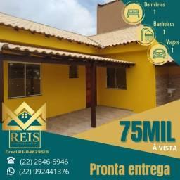 Título do anúncio: RI Casa com 1 dormitório à venda, por R$ 75.000,00 - Unamar - Cabo Frio/RJ