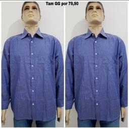 Camisa social R$:80 cada