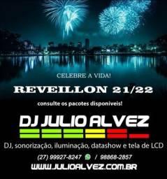 Título do anúncio: DJ Julio Alvez - sonorização, iluminação e data show para seu evento