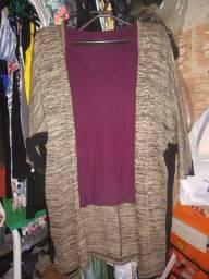 Kimono    marrom 8 reais