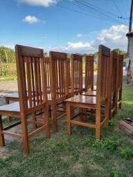 Título do anúncio: Cadeiras de madeira Jatobá