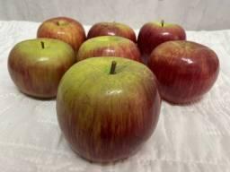 Título do anúncio: 07 maçãs em cerâmica para decoração