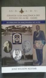 Livro maçonaria no Acre