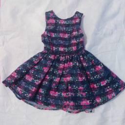 Título do anúncio: Vestido infantil florido Tam 1 ano