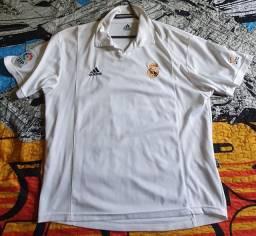 Camisa Real Madrid 2002 Tam. GG Centenário Original