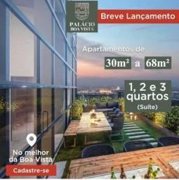 Título do anúncio: SA - Boa Vista I Apto de 30m a 68m I de Frente ao Colégio Americano Batista