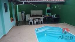 Título do anúncio: Casa com 2 dormitórios, piscina à venda, 120 m² por R$ 350.000 - Jardim Prados - Peruíbe/S