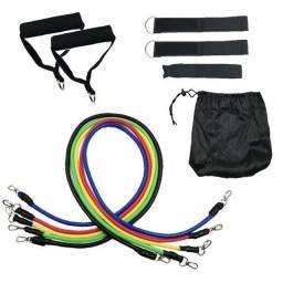 Título do anúncio: Kit elastico Extensor para treino funcional exercícios em casa