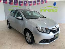 Título do anúncio: Renault Logan  1.6 ano 2014 Completão