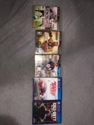Jogos de PS4 e PS3 a venda