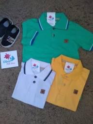 Título do anúncio: Camisa Polo infantil