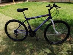 Título do anúncio: Bicicleta aro 26 18 marchas nova