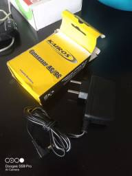 Fonte pedal pedaleira 9v (nunca usado)
