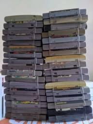 Título do anúncio: Jogos super Nintendo troco em outros jogos