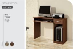 Escrivaninha Mesa para Escritório Home Office Novo