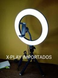 Título do anúncio: Ring light de mesa 20cm