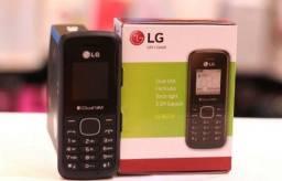 Título do anúncio: Celular 2 Chips LG Rádio FM entrada antena Rural (Entrega Grátis)