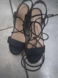 Sapato alto plataforma