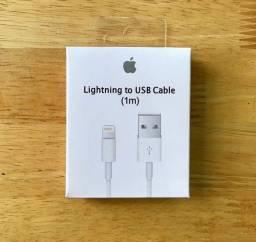 Título do anúncio: Cabo Lightning Usb Carregador iPhone 5 6 7 8 Plus S X Xr Xs