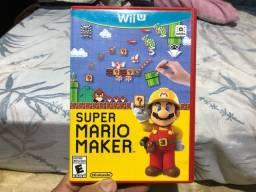 Título do anúncio: Super Mário maker Wii u americano