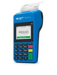 Título do anúncio: Máquina de cartão que imprimir recibo MercadoLivre  ponto pro2
