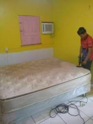 Título do anúncio: Lavagem a seco higienização de sua camabox king
