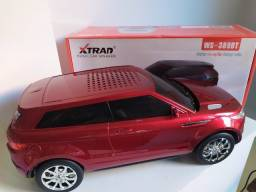 Caixa de Som Estilo Range Rover Vermelha Muito Boa