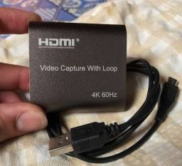 Título do anúncio: Placa de Captura 4k Com Loop 60fps