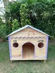 Fabricamos Casinhas de Madeira para Crianças e animais