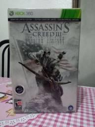 Assassin's Creed 3 edição de colecionador (leia)