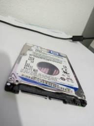 Hd Notebook Sata2 500Mb Slim 2,5 pol Western Digital