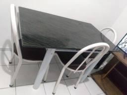 Título do anúncio: Mesa em mármore com 4 caldeiras, semi nova