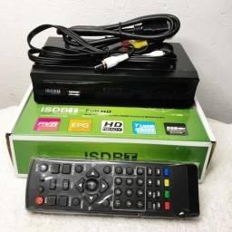 Título do anúncio: Conversor Tv Sinal Digital Isdb-t Sinal Tv Aberta, novos entregamos