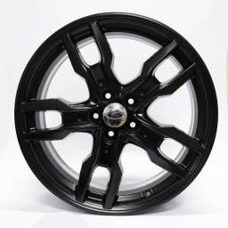 Título do anúncio: Jogo Roda Original Ford Edge Aro 20x9 Preta 5x114 Et43 Usada