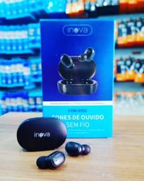 Título do anúncio: FONE DE OUVIDO BLUETOOTH IN-EAR SEM FIO ORIGINAL INOVA <br><br>