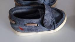 Título do anúncio: Sapatenis Jeans Mini Reserva - Tam.18