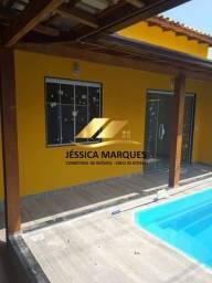 Título do anúncio: Maravilhosa casa com 2 quartos com piscina e área gourmet em Unamar - Cabo Frio - RJ