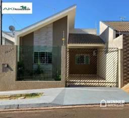 Casa com 2 dormitórios à venda, 78 m² por R$ 275.000,00 - São José - Sarandi/PR