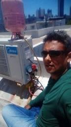 Título do anúncio: Instalação e manutenção em ar condicionado