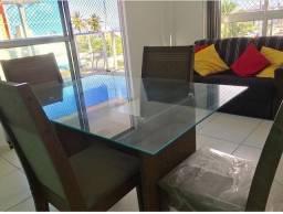 Título do anúncio: Apartamento mobiliado à beira mar
