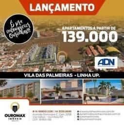Título do anúncio: Lançamento Vila das Palmeiras - Linha UP - a partir de R$ 139.000 - Ourinhos/SP
