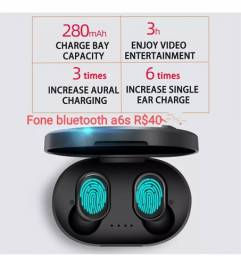 Título do anúncio: Fone Bluetooth a6s