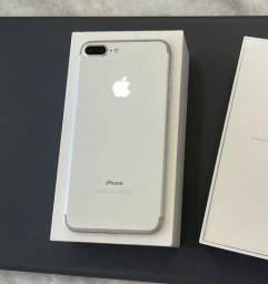 Título do anúncio: Iphone 7 Plus Silver 32gb/ aceito troca apenas em iphone.
