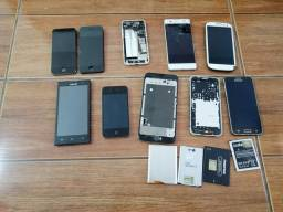 Lote de celulares