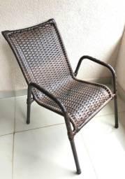 Título do anúncio: Cadeira Em Junco Fibra Sintética Varanda