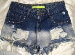 Título do anúncio: short jeans destroyed TAM 36