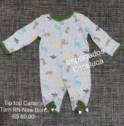 Tip Top Carter's- Importado original tamanho Recem nascido