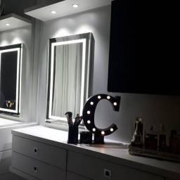 Espelho com led sob medida